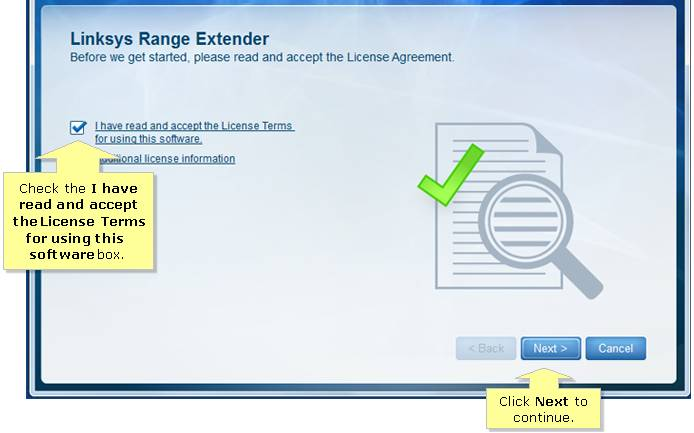 Linksys Extender Setup re4000w using Setup Wizard