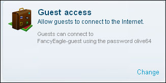 manage the guest acounnt