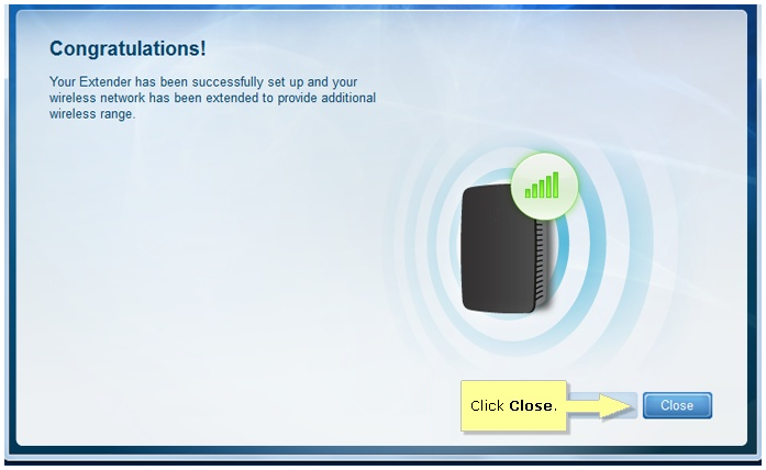 how to connect linksys extender